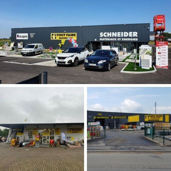 Tout-Faire Matériaux Schneider Mussig, Triembach et Marckolsheim