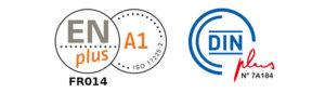 Logo Certification Pellet DIN+ EN+